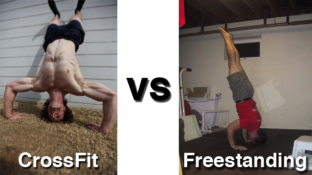 CrossFit HSPU vs. Freestanding HSPU