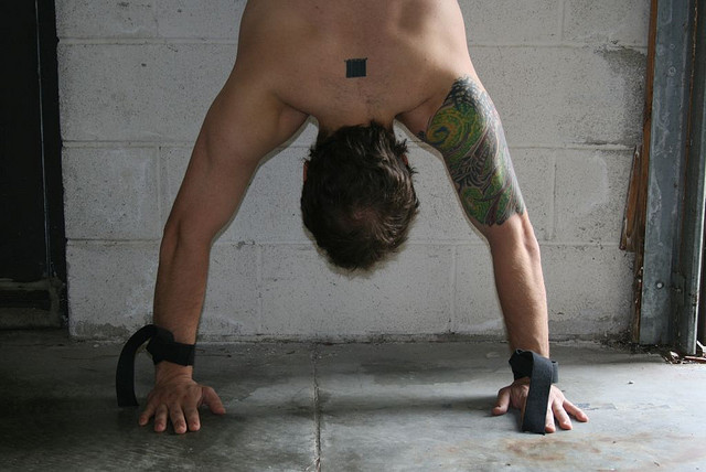 Rugged Wall Handstand